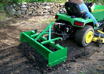 lawn mower for rough terrain attachments