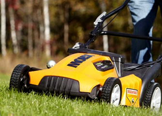 quiet electric lawn mower