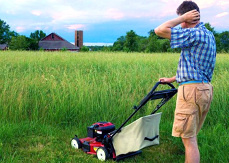 picking right size lawn mower