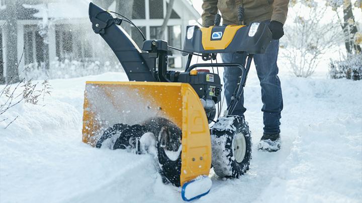 2-stage snow blower