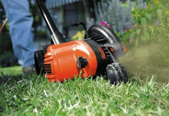 edging lawn with commercial lawn edger