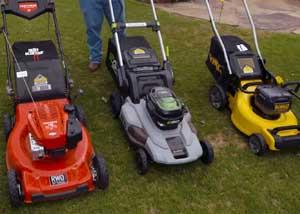 gas vs electric lawn mowers