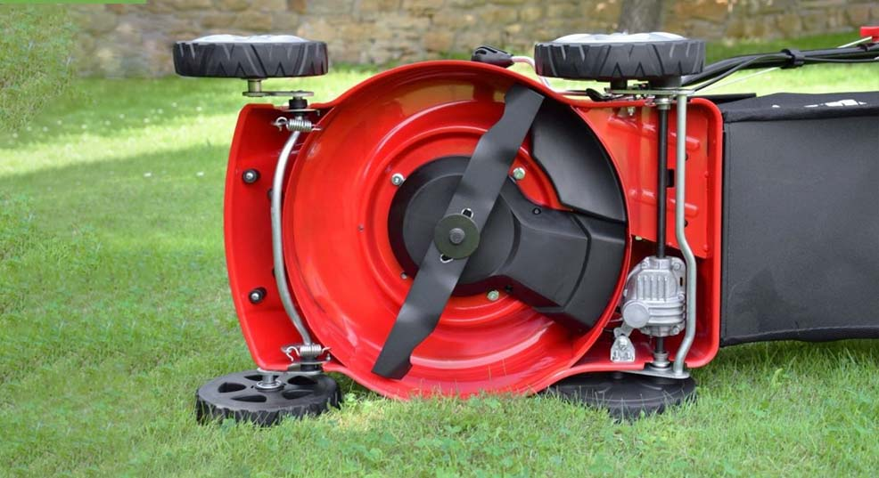 how to balance lawn mower blade