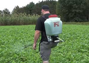 plastic backpack sprayer