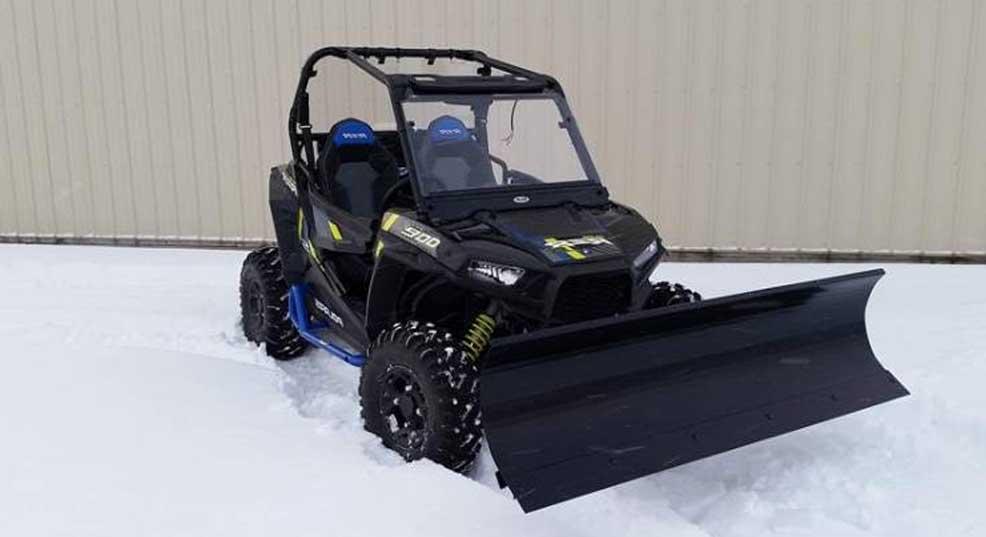 snow plow for polaris ranger