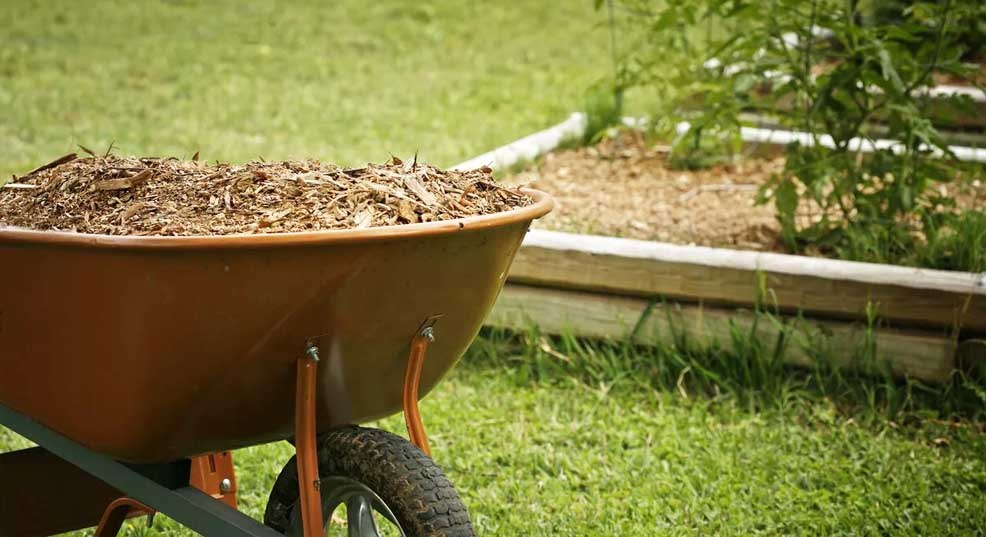 how much does mulch weigh