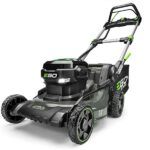 cheap self propelled lawn mower with steel deck