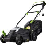 using quiet lawn mower on your lawn